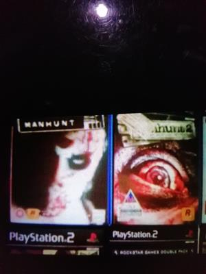 Wanted manhunt and manhunt2 ps2games pls 0826411142