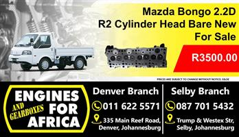 Mazda Bongo 2.2D R2 Bare Cylinder Head New For Sale