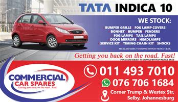 New Tata Indica 10- Body Parts And Spares For Sale At Car Spares