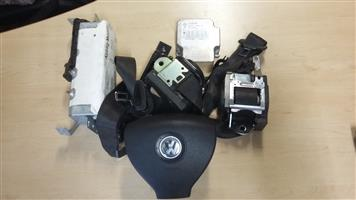 VW Polo Facelift Complete Airbag Set