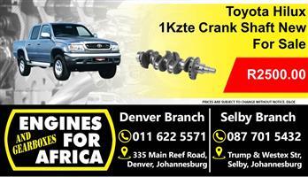 Toyota Hilux 1Kzte crankshaft New For Sale