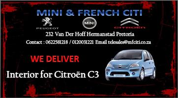 Citroen C2 Interior for sale
