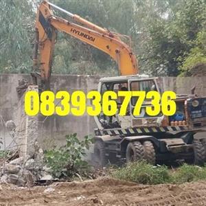 Rubble removal demolition