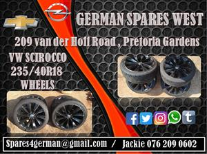 VW SCIROCCO WHEELS