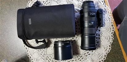 Sigma 150-500mm APO HSM OS Lens Cannon Mount
