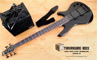 Ibanez GSR205-TR Gio SR Series 5 string Bass guitar for sale  Lady Grey