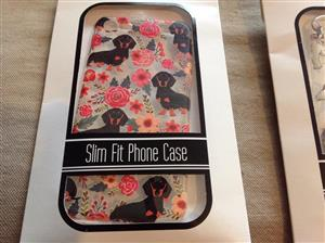 Sausage dog slim fit phone case cover