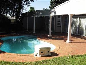 Fully furnished 4 b/r house with pool, prepaid meter and dble auto LUG