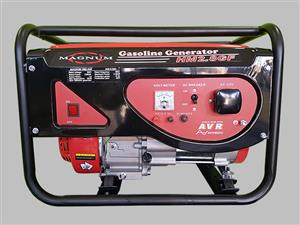 Magnum 6.5kva Generators with Electric Start, Price Incl Vat