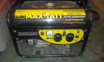 Urgent Sale Maxwatt generator