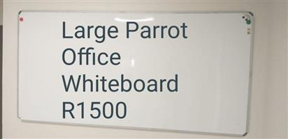 Large Office Parrot Whiteboard.