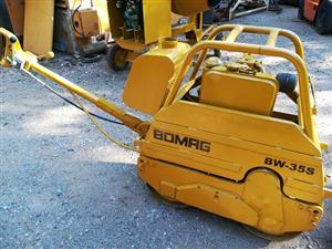Bomag roller