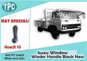 Isuzu Window Winder Handle Black New for Sale at TPC