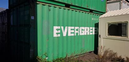 Containers on Auction in DCD Marine A-Berth, Cape Town