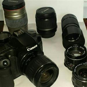 Canon EOS 40d camera with various lemses etc