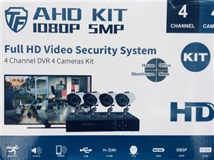 Consider this CCTV opportunity! 4 Channel AHD 5MP 1080P Camera kit(installation optional) Massive 16 month warranty!