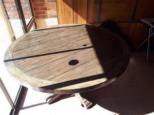Kiaat Dining Room table for sale, Roodepoort