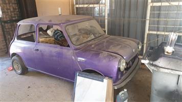 Unfinished project 1972 Mini Bullnose 1000CC
