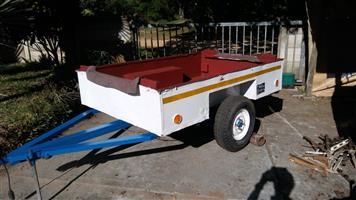 2 wheel trailor