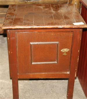 Small brown cabinet S031008E #Rosettenvillepawnshop