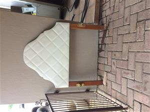Single Bed with headboard and Mattress for sale