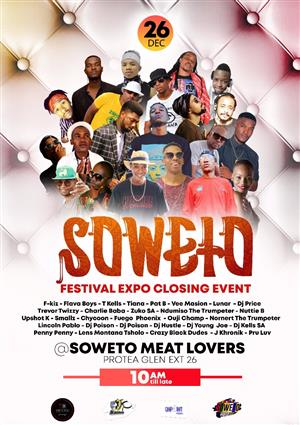 26 December 2019 boxing  day soweto festival expo