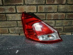 Ford Fiesta Facelift Left Taillight