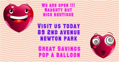 NAUGHTY BUT NICE OFFICIAL GRAND OPENING