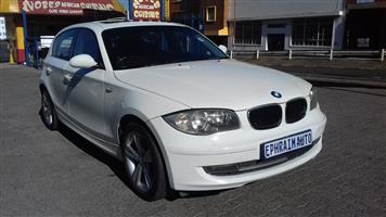 2009 BMW 1 Series 120d 5 door auto