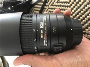 Nikkor 55-300mm 4,5 - 5,6 ED lens
