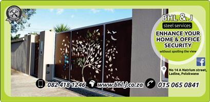 Cnc plasma cut decorative Gates & panels