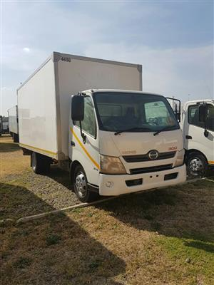 2013 Hino 300-814 Volume Bin truck for sale