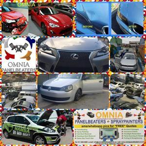Vehicle accident repairs
