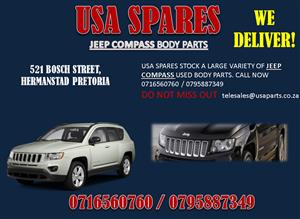 JEEP COMPASS USED REPLACEMENT BODY PANELS