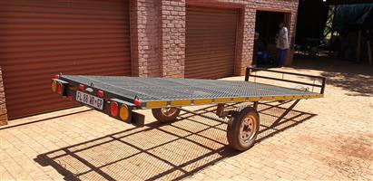 Trailer 4m x 1.6m, excellent condition, papers in order. Open to reasonable offers