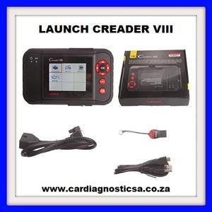 Original Launch OBDII/EOBD Code Reader X431 Creader VIII (CRP129) 4 Systems Diagnosis