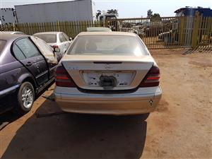 2004 Mercedes W203 Facelift Stripping For Spares For More Info Contact Ebrahim On 0833779718