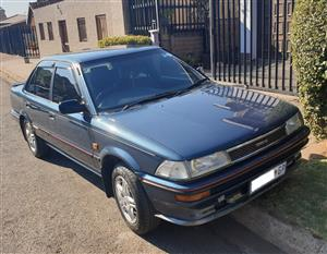 TOYOTA COROLLA 1991 IN IMMACULATE ORIGINAL CONDITION - EXTREMELY RARE FIND 13200km only