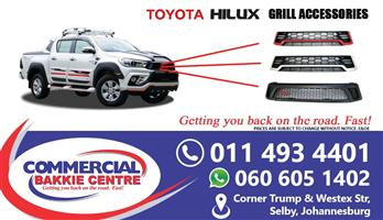 toyota hilux gd6 revo grill with light