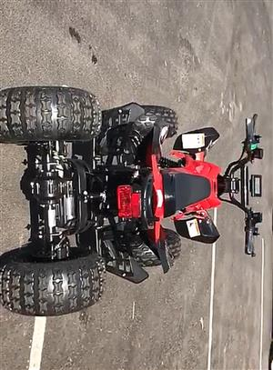 Electric ATV's for sale! No petrol, diesel or Oil needed