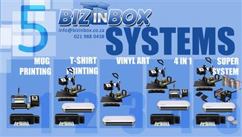 Variety of printing packages you can start your own business instantly an quickly