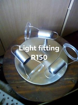 Light fitting for sale