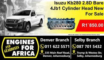 Isuzu Kb280 2.8D 4Jb1 Bare Cylinder Head New For Sale