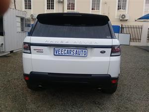 2015 Land Rover Range Rover Sport RANGE ROVER SPORT 5.0 V8 S/C AUTOBIO DYNAMIC