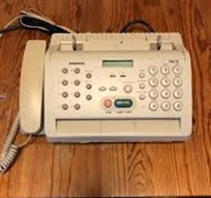 Fax machine, Daewoo FA210 R 400