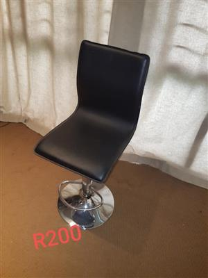 Black adjustable chair for sale