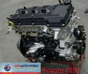 Imported used  TOYOTA/HILUX/QUANTUM 2.7L, 2TR engine Complete