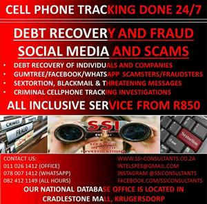 PRIVATE INVESTIGATORS AND TOP SPECIALISTS DETECTIVES SPECIALIZING IN ALL FORMS OF INVESTIGATIONS IN THE NORTHERN CAPE WHATSAPP 0780071412 ALL HOURS NUMBER 0824121149 EMAIL INTELSPES@GMAIL.COM