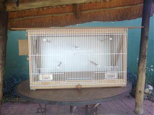 2 breeding cages