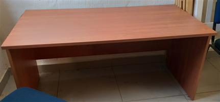 A Cherry Veneer Desk